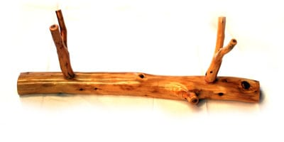 Log-style Flute Stand