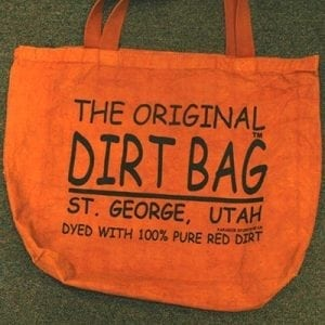 The Original Dirt Bag Red Dirt Tote