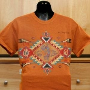 Kokopelli Motif Shirt