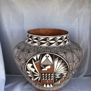 Acoma Pueblo Pottery Olla