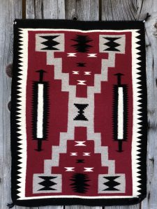 Genuine Navajo Rug Weaver: Shirly Johnson Area: Storm Size: 35 1/2