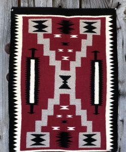 Genuine Navajo Rug Weaver: Shirly Johnson Area: Storm Size: 35 1/2
