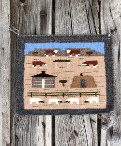 Genuine Navajo Rug Weaver: Cecelia Curley Area: Pictorial Size: 15