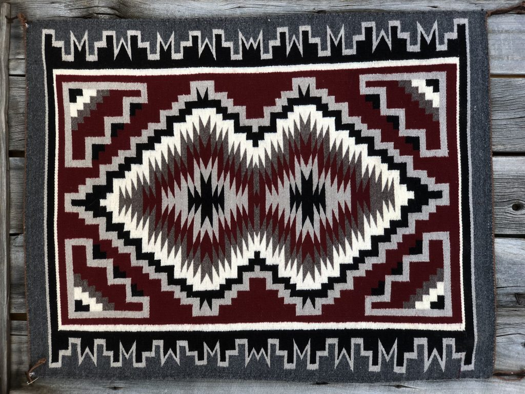Genuine Navajo Rug Cowboys And Indians Online