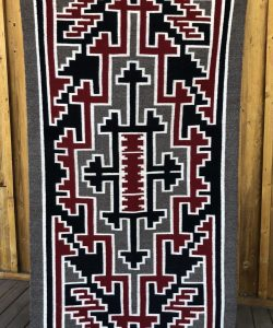 Genuine Navajo Rug Weaver: Ann Shirley Area: Ganado Size: 60