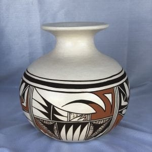 Hopi Pueblo Pottery Olla by Delores roberts Granddaughter of Frog Women