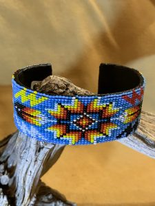 Native American Beaded Cuff Bracelet