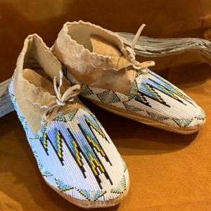 Native American Beaded Moccasins-Adult
