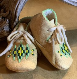 Native American Beaded Moccasins-Toddler