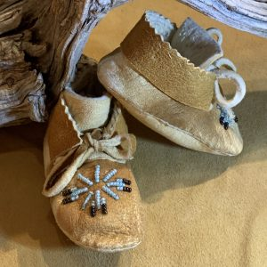 Native American Beaded Moccasins-Infant