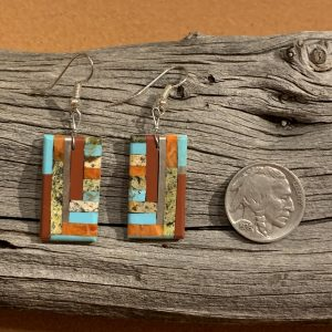 Joseph Calabasa Santo Domingo Mosaic Earrings
